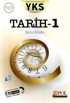 Eğitim Polikliniği Yayınları AYT Tarih 1 Soru Kitabı