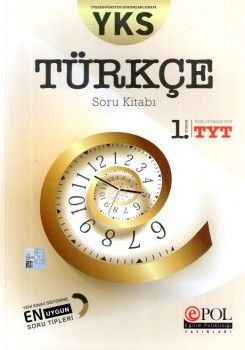 Eğitim Polikliniği Yayınları YKS 1. Oturum TYT Türkçe Soru Kitabı
