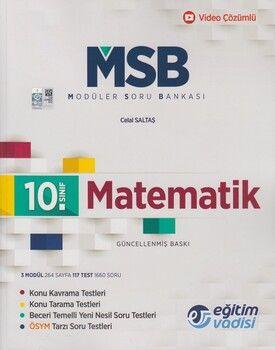 Eğitim Vadisi 10. Sınıf Matematik Güncel MSB Modüler Soru Bankası