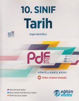 Eğitim Vadisi 10. Sınıf Tarih Güncel PDF Planlı Ders Föyü
