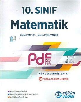 Eğitim Vadisi 10. Sınıf Matematik Güncel PDF Planlı Ders Föyü