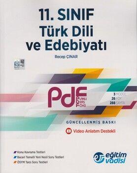 Eğitim Vadisi 11. Sınıf Türk Dili ve Edebiyatı Güncel PDF Planlı Ders Föyü