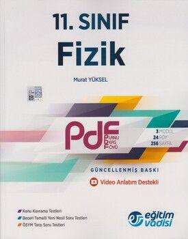 Eğitim Vadisi 11. Sınıf Fizik Güncel PDF Planlı Ders Föyü