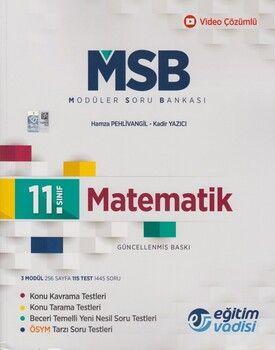 Eğitim Vadisi 11. Sınıf Matematik Güncel MSB Modüler Soru Bankası