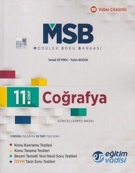 Eğitim Vadisi 11. Sınıf Coğrafya Güncel MSB Modüler Soru Bankası