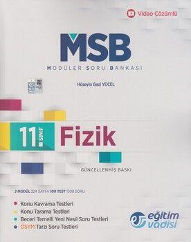 Eğitim Vadisi 11. Sınıf Fizik Güncel MSB Modüler Soru Bankası