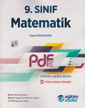 Eğitim Vadisi 9. Sınıf Matematik Güncel PDF Planlı Ders Föyü