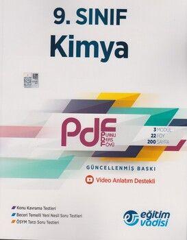 Eğitim Vadisi 9. Sınıf Kimya Güncel PDF Planlı Ders Föyü