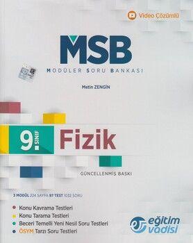 Eğitim Vadisi 9. Sınıf Fizik Güncel MSB Modüler Soru Bankası
