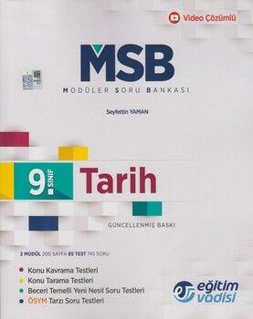 Eğitim Vadisi 9. Sınıf Tarih Güncel MSB Modüler Soru Bankası