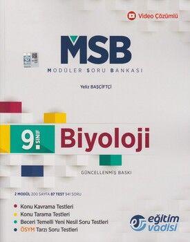 Eğitim Vadisi 9. Sınıf Biyoloji Güncel MSB Modüler Soru Bankası