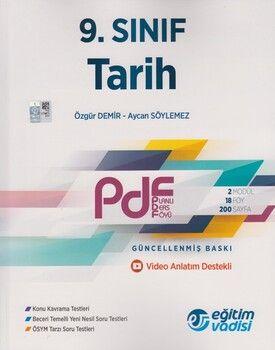 Eğitim Vadisi 9. Sınıf Tarih Güncel PDF Planlı Ders Föyü