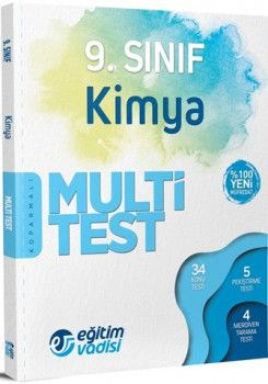 Eğitim Vadisi 9. Sınıf Kimya Multi Test