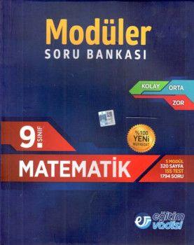 Eğitim Vadisi 9. Sınıf Matematik Modüler Soru Bankası
