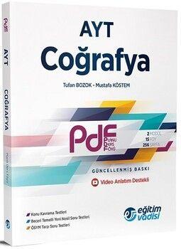 Eğitim Vadisi AYT Coğrafya Güncel PDF Planlı Ders Föyü