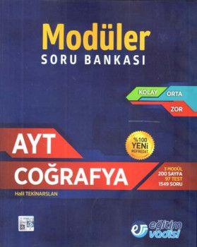 Eğitim Vadisi AYT Coğrafya Modüler Soru Bankası