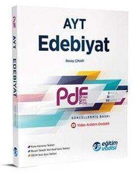 Eğitim Vadisi AYT Edebiyat Güncel PDF Planlı Ders Föyü