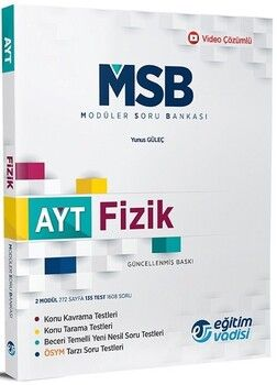 Eğitim Vadisi AYT Fizik MSB Modüler Soru Bankası