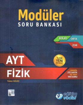 Eğitim Vadisi AYT Fizik Modüler Soru Bankası