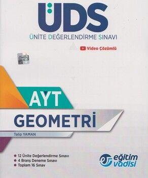Eğitim Vadisi AYT Geometri Ünite Değerlendirme Sınavı