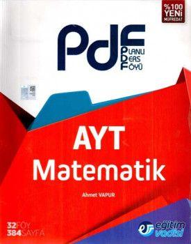 Eğitim Vadisi AYT Matematik Planlı Ders Föyü