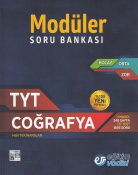 Eğitim Vadisi TYT Coğrafya Modüler Soru Bankası