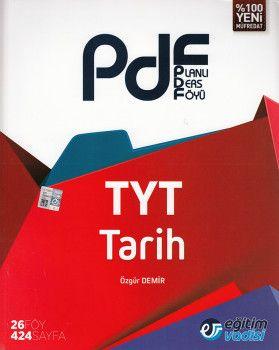 Eğitim Vadisi TYT Tarih PDF Planlı Ders Föyü