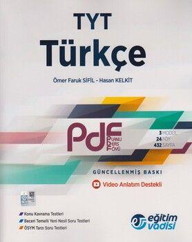 Eğitim Vadisi TYT Türkçe Güncel PDF Planlı Ders Föyü