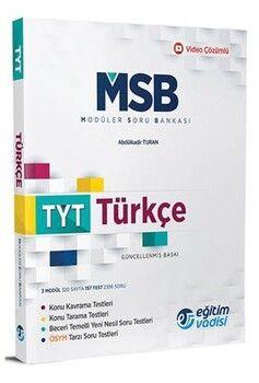 Eğitim Vadisi TYT Türkçe Güncel MSB Modüler Soru Bankası