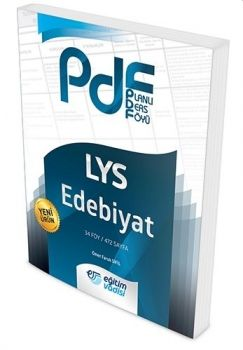 Eğitim Vadisi Yayınları LYS Edebiyat Planlı Ders Föyü PDF