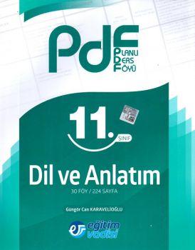 Eğitim Vadisi Yayınları 11. Sınıf Dil ve Anlatım Planlı Ders Föyü PDF