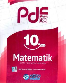 Eğitim Vadisi Yayınları 10. Sınıf Matematik Planlı Ders Föyü PDF