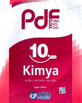 Eğitim Vadisi Yayınları 10. Sınıf Kimya Planlı Ders Föyü PDF