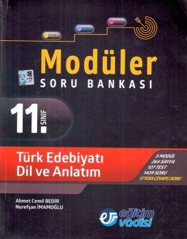 Eğitim Vadisi Yayınları 11. Sınıf Türk Edebiyatı Dil ve Anlatım Modüler Soru Bankası