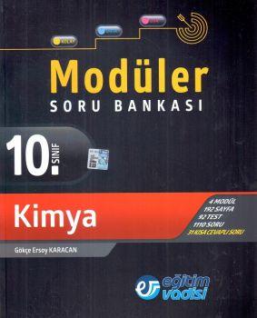 Eğitim Vadisi Yayınları 10. Sınıf Kimya Modüler Soru Bankası