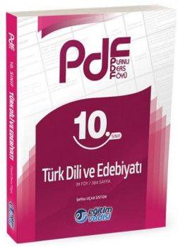 Eğitim Vadisi Yayınları 10. Sınıf Türk Dili ve Edebiyatı Planlı Ders Föyü PDF