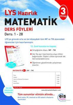EİS Yayınları LYS Matematik 3. Kitap Ders Föyleri