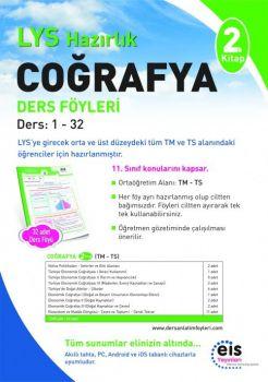 EİS Yayınları LYS Coğrafya 2. Kitap Ders Anlatım Föyleri