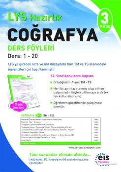 EİS Yayınları LYS Coğrafya 3. Kitap Ders Anlatım Föyleri
