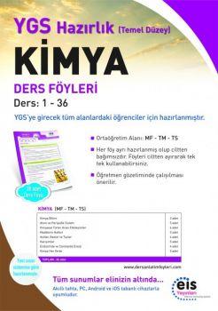 EİS Yayınları YGS Kimya Temel Düzey Ders Anlatım Föyleri