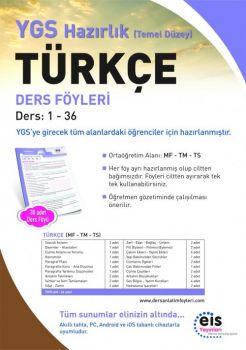 EİS Yayınları YGS Türkçe Temel Düzey Ders Anlatım Föyleri