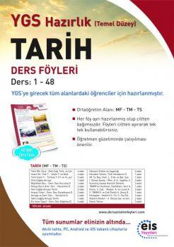 EİS Yayınları YGS Tarih Temel Düzey Ders Anlatım Föyleri
