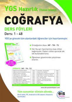 EİS Yayınları YGS Coğrafya Temel Düzey Ders Anlatım Föyleri