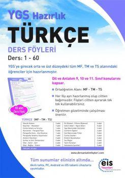 EİS Yayınları YGS Türkçe Ders Anlatım Föyleri