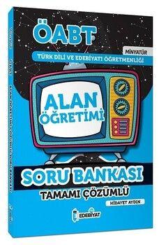 Edebiyat TV 2021 ÖABT Türk Dili ve Edebiyatı Alan Öğretimi MİNYATÜR Soru Bankası