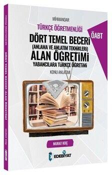 Edebiyat TV 2021 ÖABT Türkçe Mihmandar Dört Temel Beceri Alan Öğretimi Konu Anlatımı