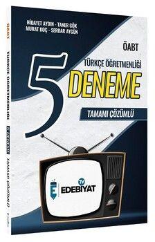 Edebiyat TV 2021 ÖABT Türkçe Öğretmenliği 5 Deneme