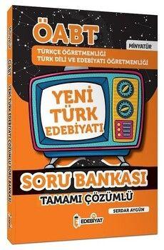 Edebiyat TV 2021 ÖABT Türkçe ve Türk Dili Edebiyatı Yeni Türk Edebiyatı MİNYATÜR Soru Bankası