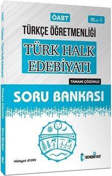 Edebiyat TV 2021 ÖABT Türkçe Öğretmenliği Türk Halk Edebiyatı Soru Bankası Çözümlü