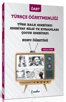 Edebiyat TV Yayınları ÖABT Türkçe Öğretmenliği Türk Halk Edebiyatı ve Çocuk Edebiyatı Konu Öğretimi